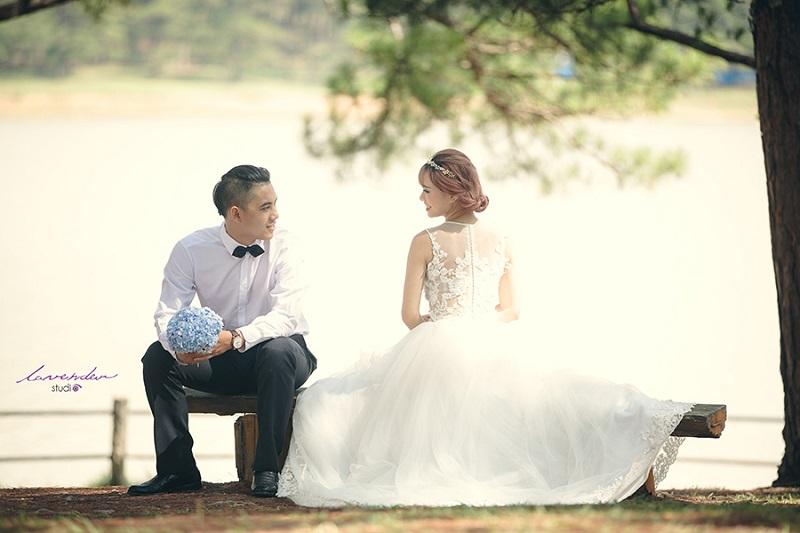 Dịch vụ chụp hình cưới tại đà lạt