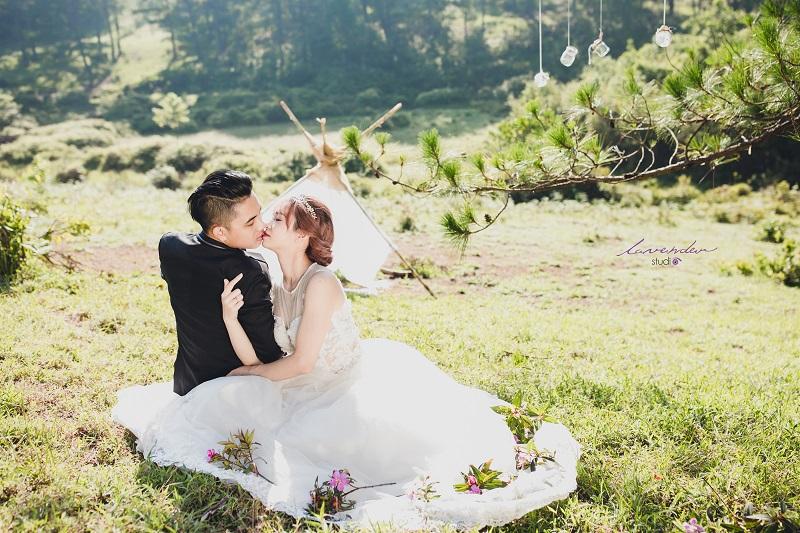gói chụp ảnh cưới ở đà lạt