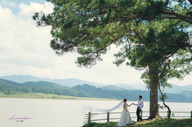 studio chụp hình cưới tại đà lạt
