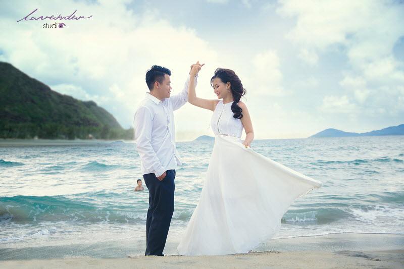 chụp ảnh cưới biển đà nẵng