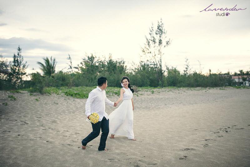 chụp hình cưới ở các bãi biển đẹp ở đà nẵng