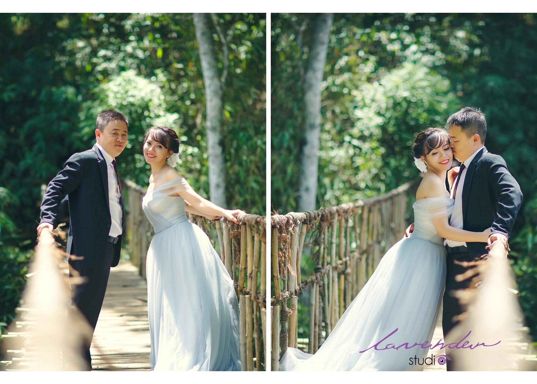 các địa điểm chụp hình cưới ở Đà Lạt