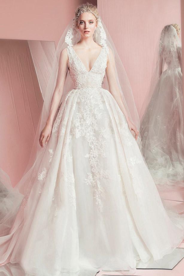 váy cưới chữ A cho cô dâu