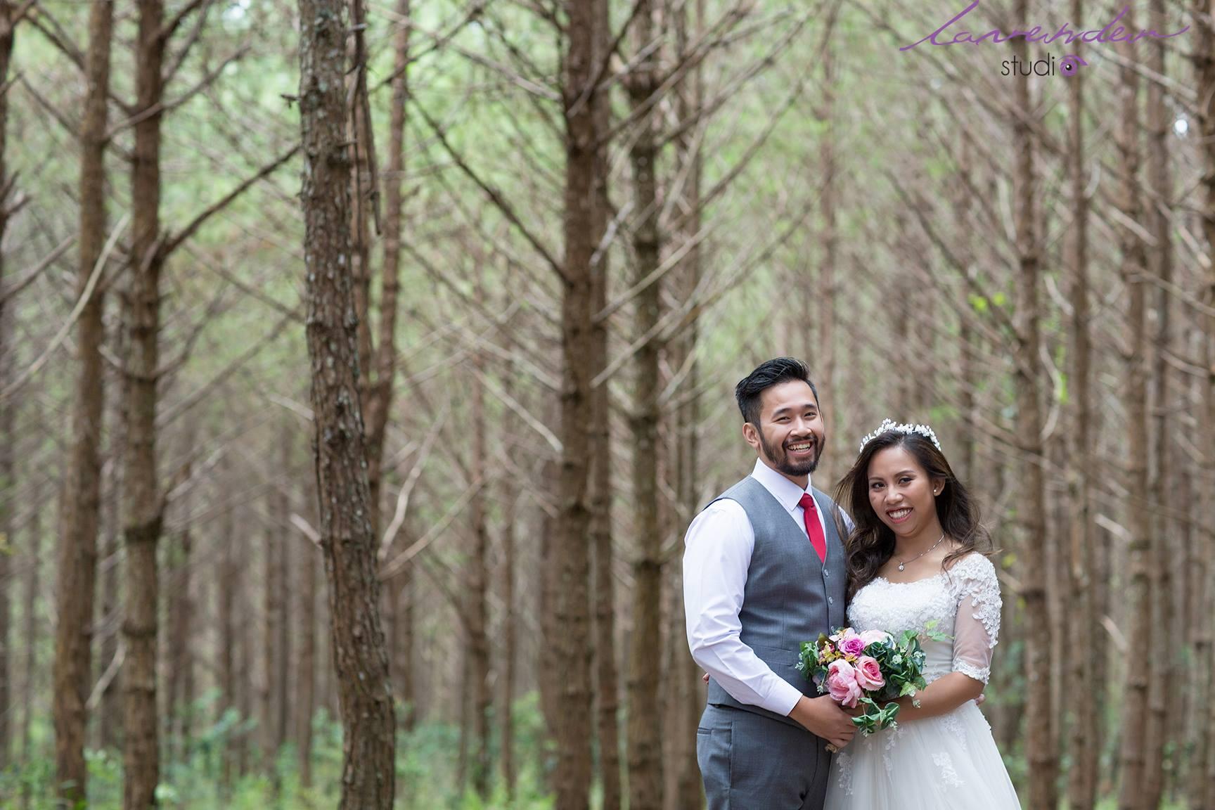 chụp ảnh cưới mùa xuân
