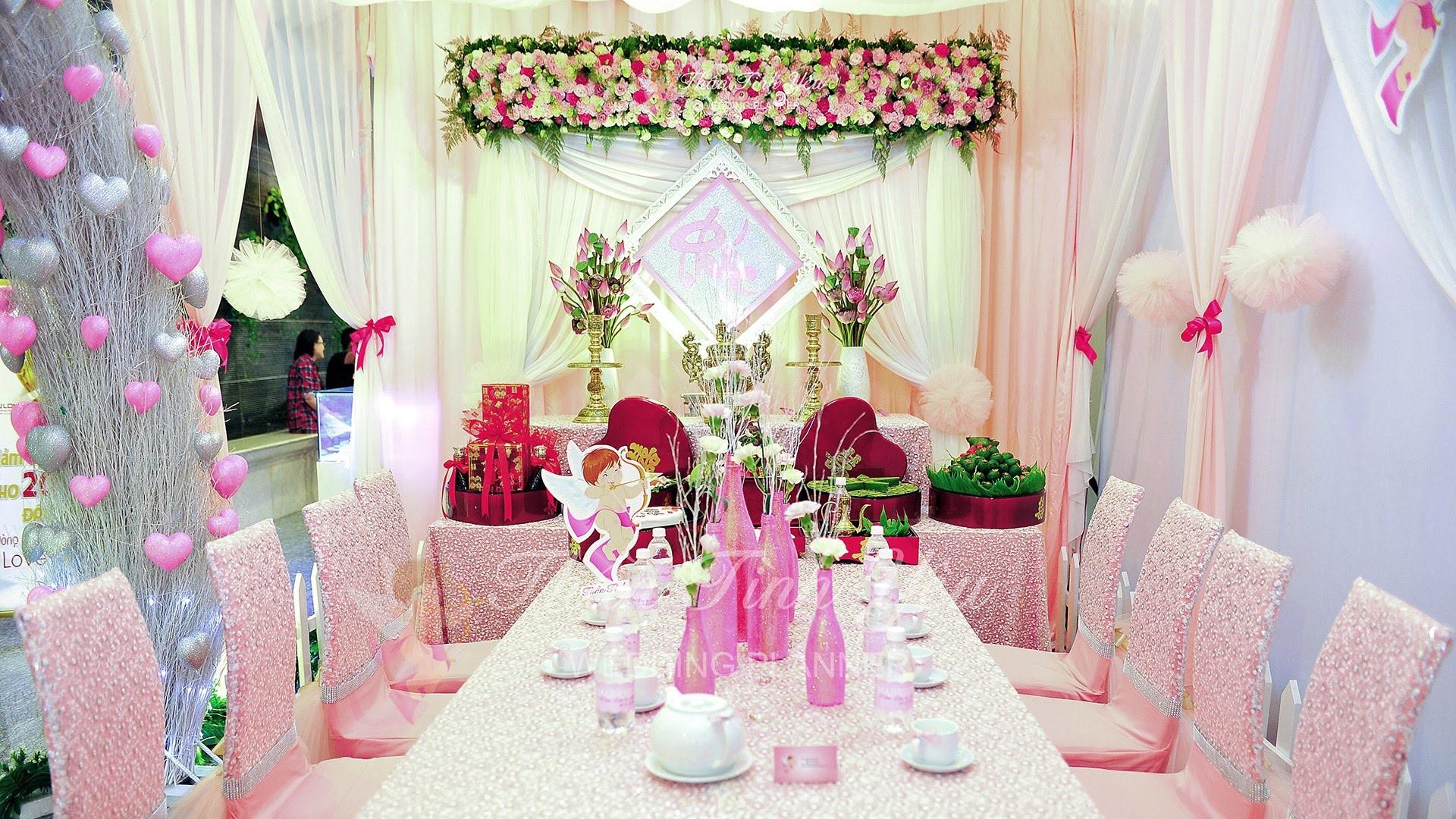 Kinh nghiệm trang trí tiệc cưới 1