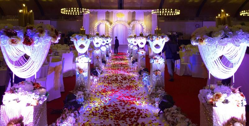 Trang trí tiệc cưới 3