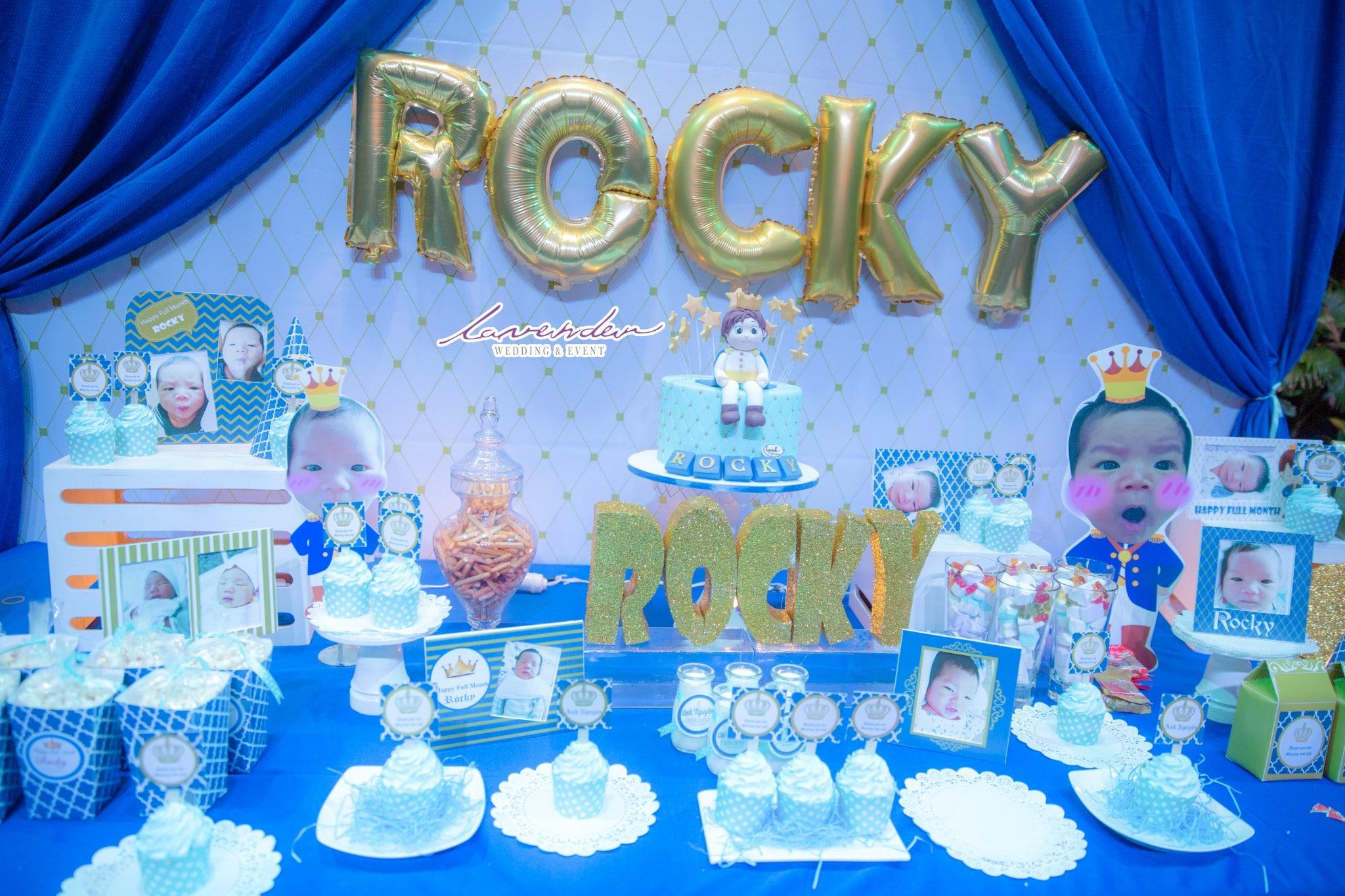 Những chủ để trang trí tiệc sinh nhật cho bé
