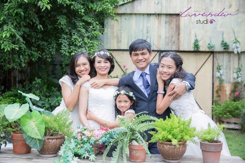 Bật mí những kinh nghiệm chụp hình gia đình dịp tết cực kì hay