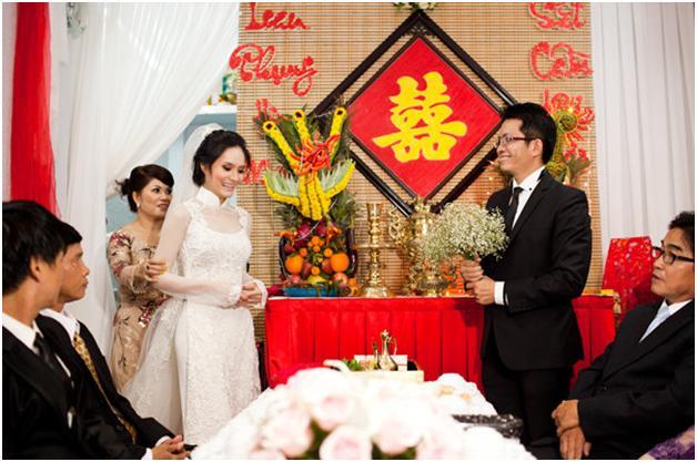 Những tập tục ngày lễ rước dâu