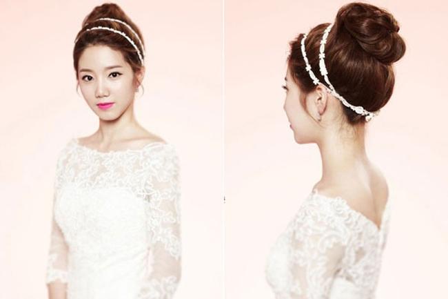 Kết quả hình ảnh cho Trang điểm cô dâu phong cách mùa hè