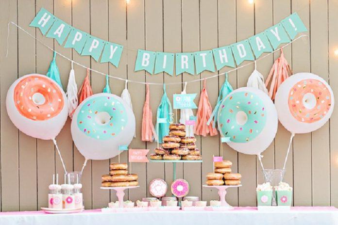 Các yêu cầu quan trọng trong trang trí sinh nhật