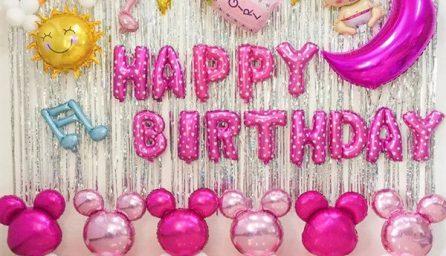 Cách trang trí tiệc sinh nhật đơn giản và ấn tượng